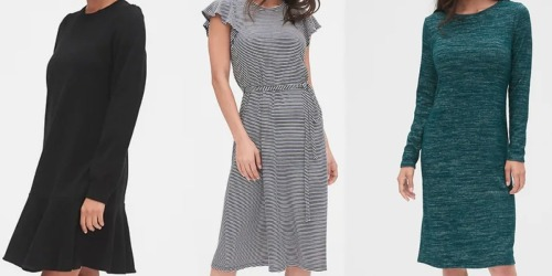 Up to 85% Off GAP Dresses, Pants, Tees & More