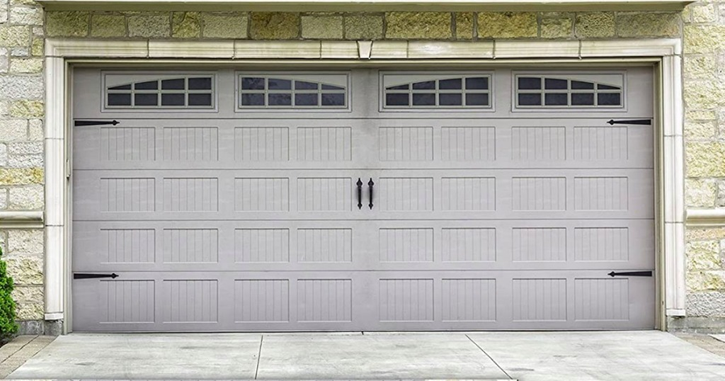 magnets on a garage door for an upgrade