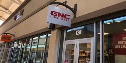 GNC Files Bankruptcy & Announces Closure of 1,200 Stores