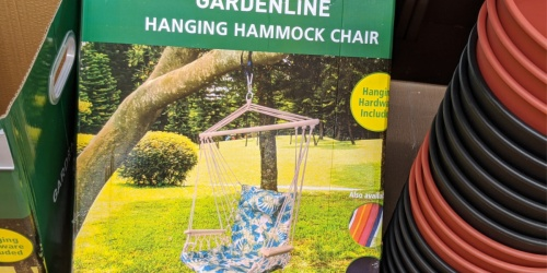 Hanging Hammock Chair Just $19.99 at ALDI + More Summer Finds