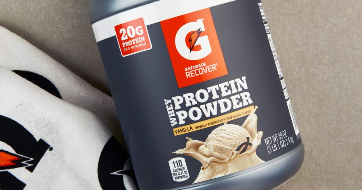 Gatorade Protein Poweder 3lb Jug