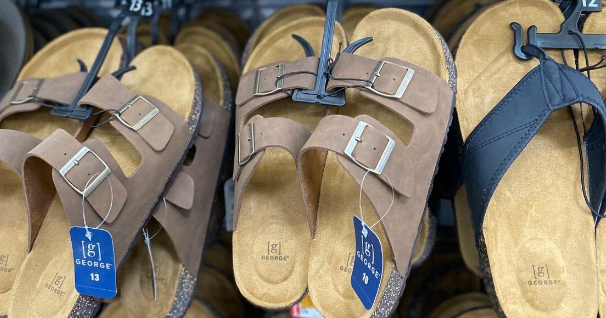 Fanático Curiosidad Separar  These Birkenstock-Style Men's Sandals are Just $11.50 on Walmart.com -  Hip2Save