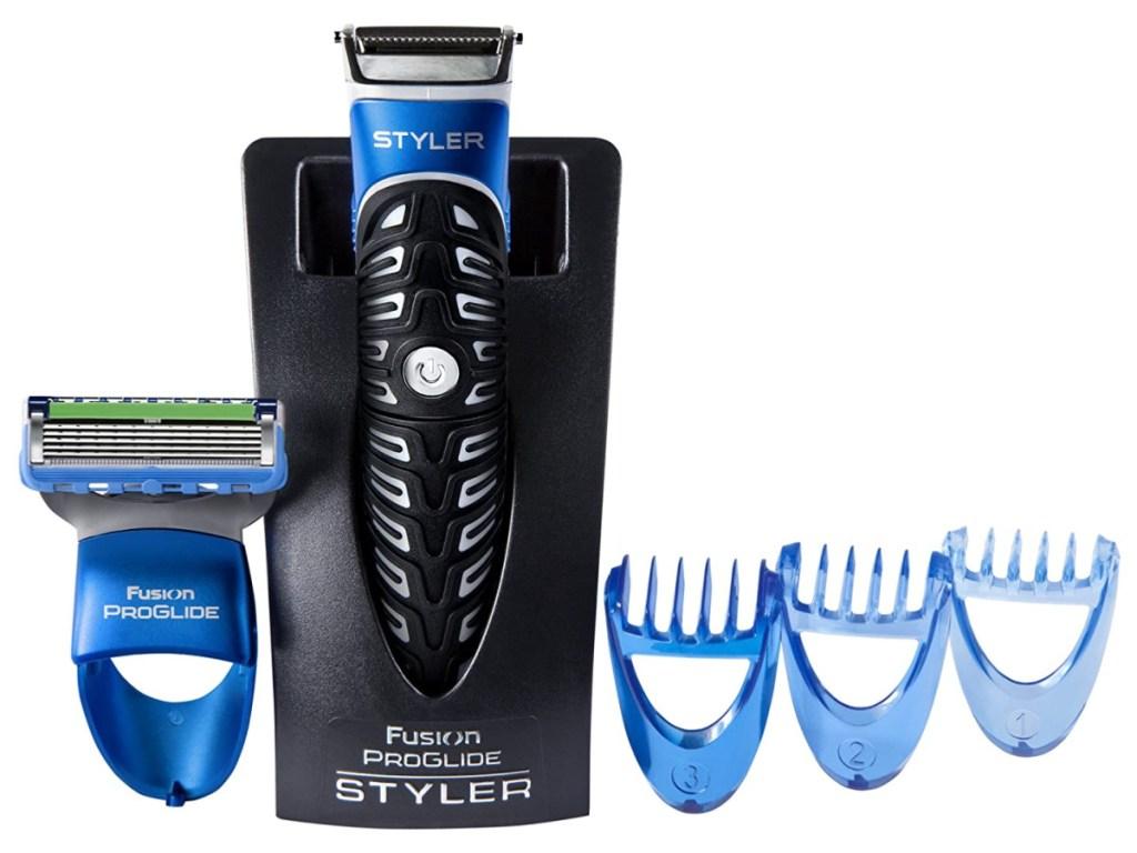 Gillette All Purpose Styler: Beard Trimmer, Fusion Razor & Edger for Men