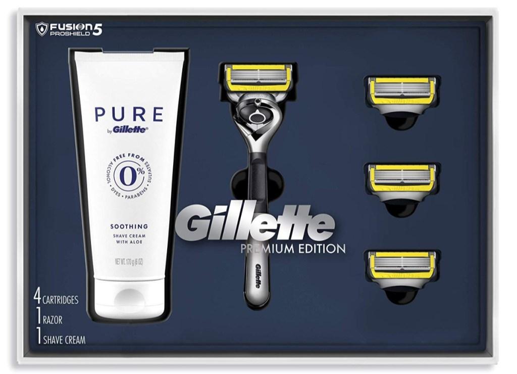 Gillette Fusion Proshield Shave Gift Set for Men