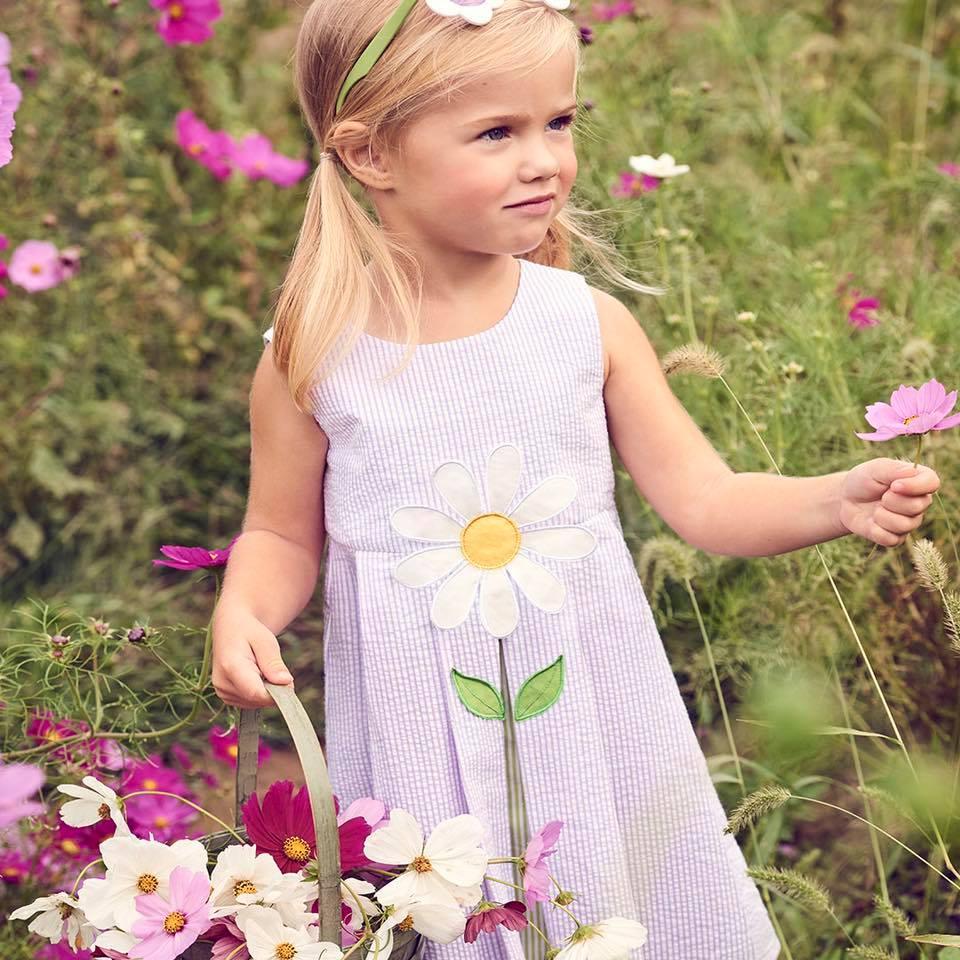 Girls Daisy Dress