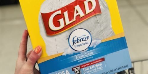 Glad ForceFlex Trash Bags Only $4.88 Shipped on Amazon + More