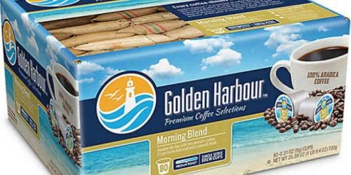 Golden Harbour K-Cups 80-Count Just $7.99 on Bed Bath & Beyond