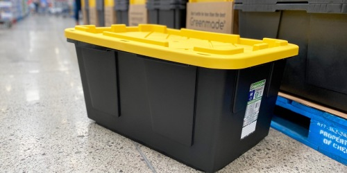 These Reader-Fave Greenmade 27-Gallon Storage Totes w/ Lids Are Only $8.99 at Costco | Perfect for Holiday Decorations