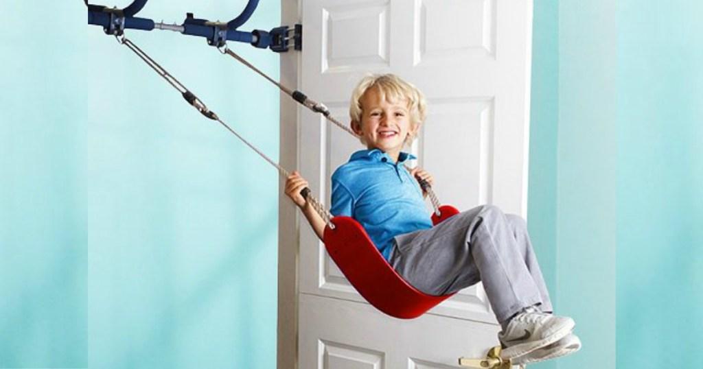 boy on Gym1 Swing