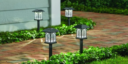 Hampton Bay Pathway Light 5-Packs from $12.88 at The Home Depot (Regularly $20+)