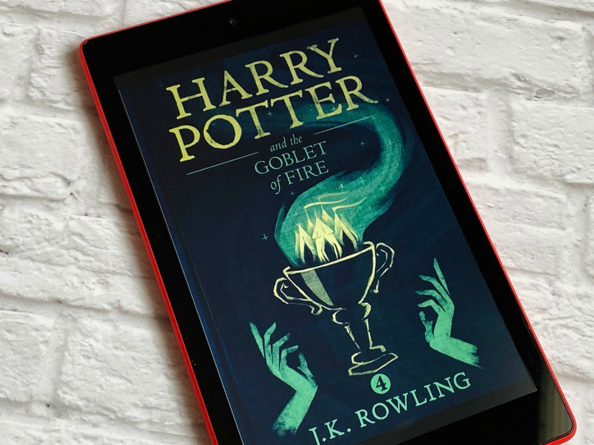 Harry Potter and the Goblet of Fire on kindle