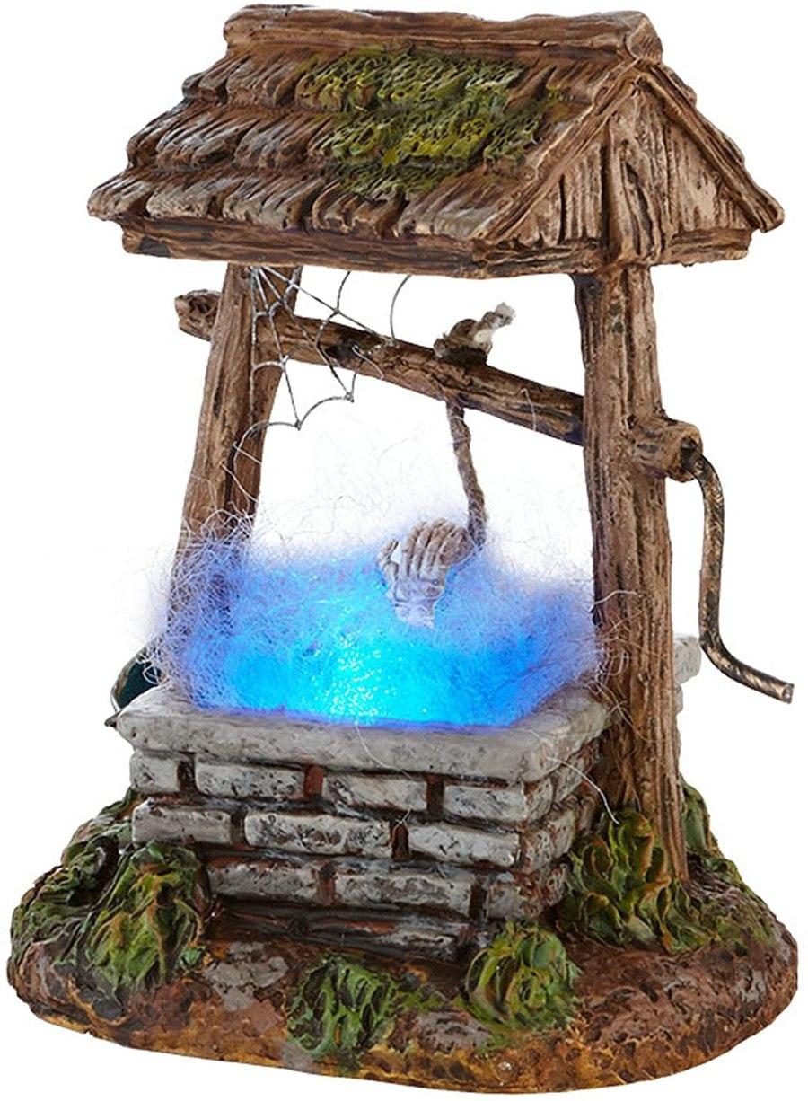 Haunted Well figurine with illuminated water