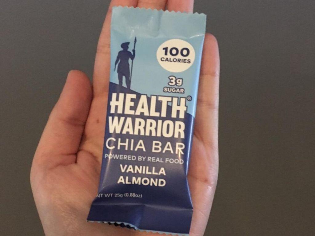 health bar in hand