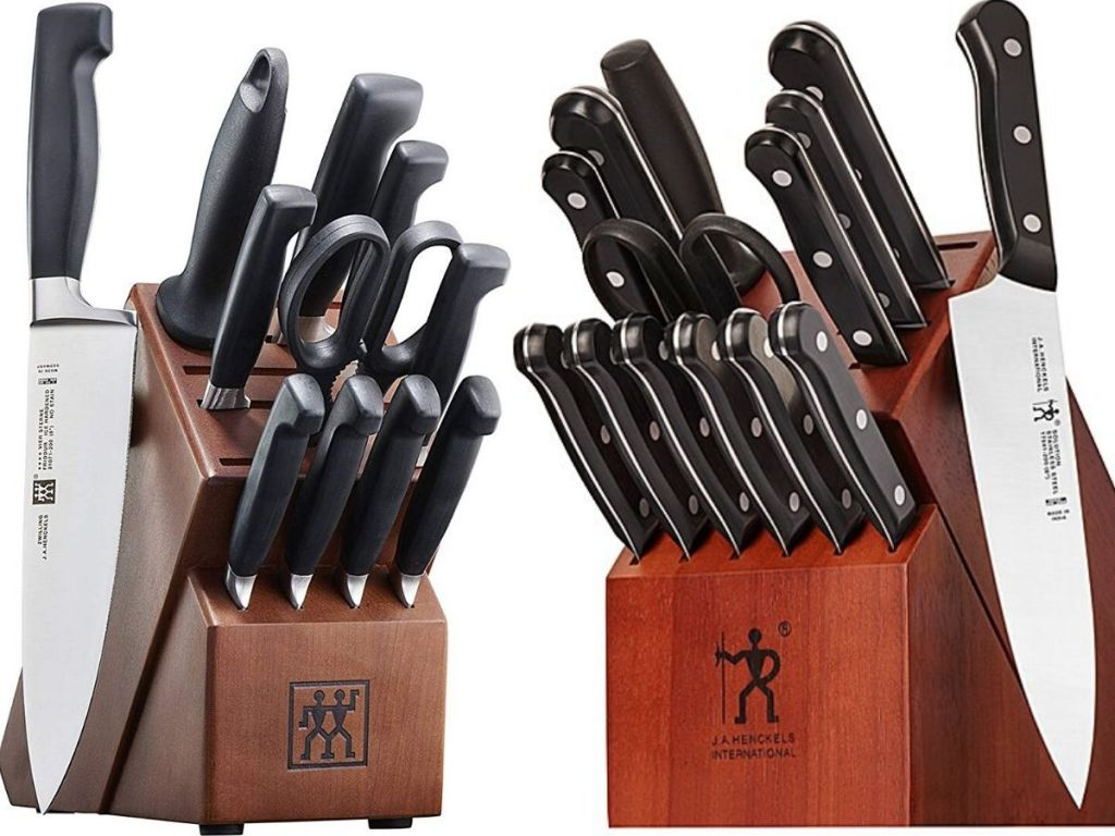 two knife block sets