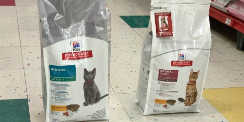 Free Fresh Step Cat Litter ($21 Value) w/ Hill's Science Diet Cat Food Purchase