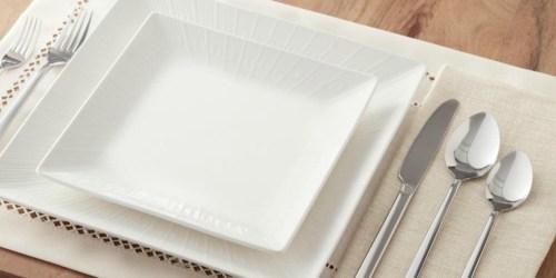 16-Piece Dinnerware Sets from $24.99 on HomeDepot.com (Regularly $60)
