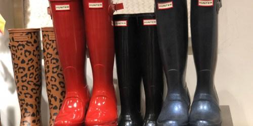 Hunter Tall Rain Boots from $47.90 Shipped on Walmart.com (Regularly $150)