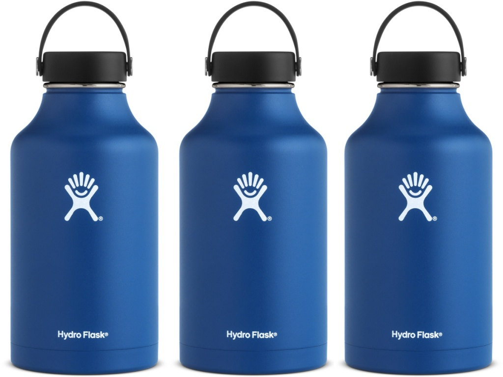 cobalt blue Hydro Flask Wide-Mouth Vacuum Water Bottle