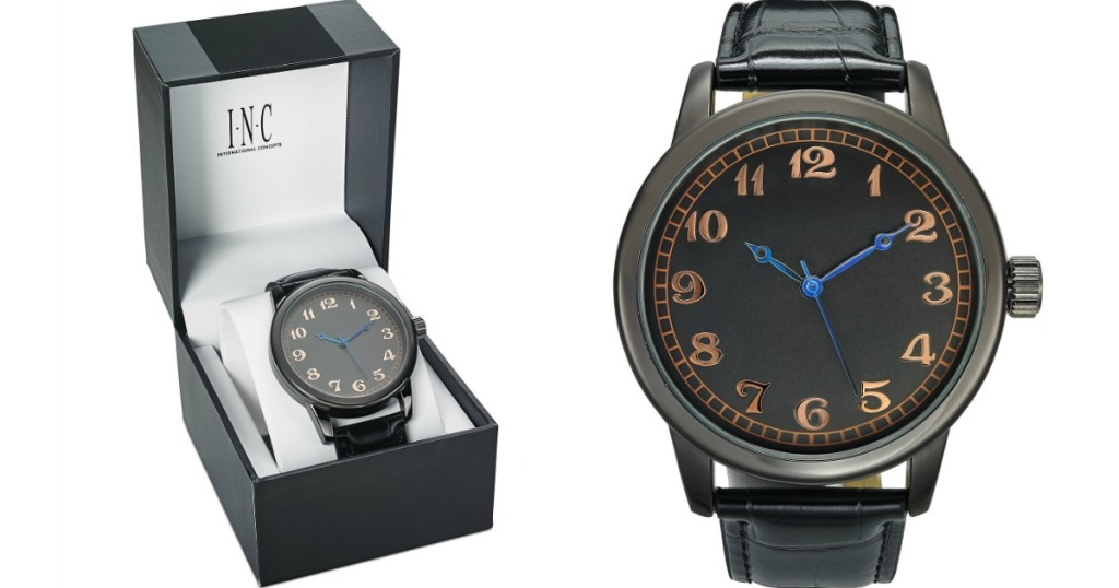watch in a box next to watch