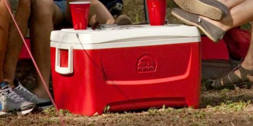 Igloo 48-Quart Cooler Only $12.88 on Walmart.com | Holds 76 Cans