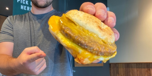 Starbucks Impossible Breakfast Sandwich Now Available