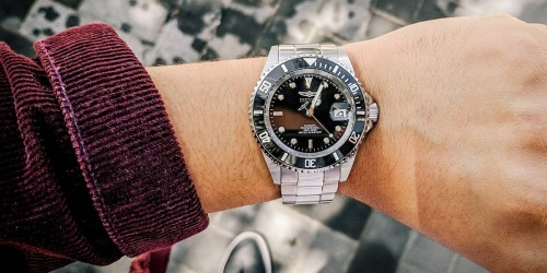 Invicta Men's Stainless Steel Watch Just $39.99 Shipped on Amazon
