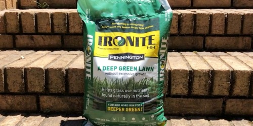 Ironite Lawn Supplement 15lb Bag Just $9.49 on Lowes.com (Regularly $19)