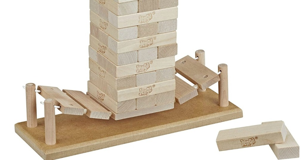Jenga Bridge game pieces