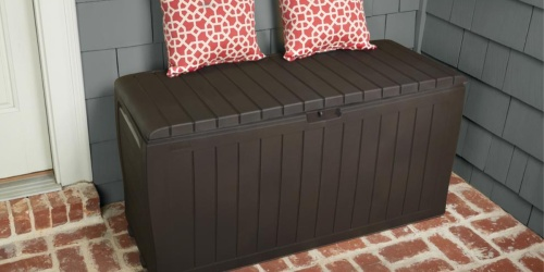 Keter 71-Gallon Outdoor Deck Box Just $49.99 Shipped (Regularly $70)