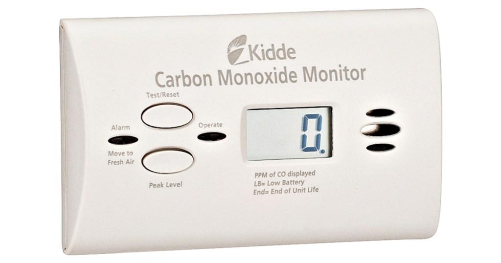 Kidde Ultra-Sensitive Battery Powered Carbon Monoxide Monitor