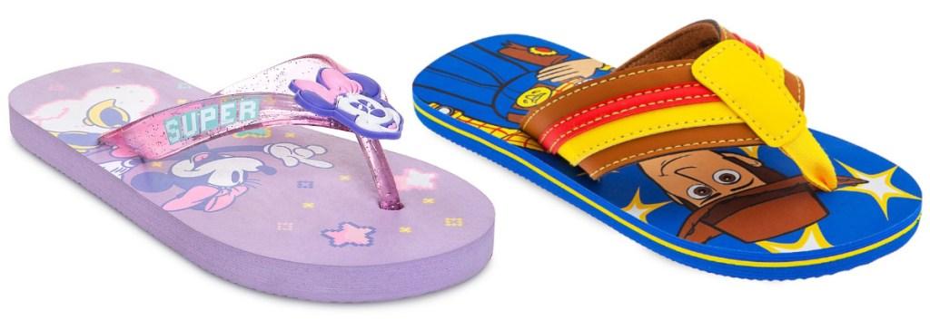 Kids disney sandals