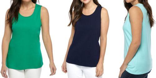 70% Off Women's Apparel on Belk.com | Tanks, Tops, & Shorts Under $8