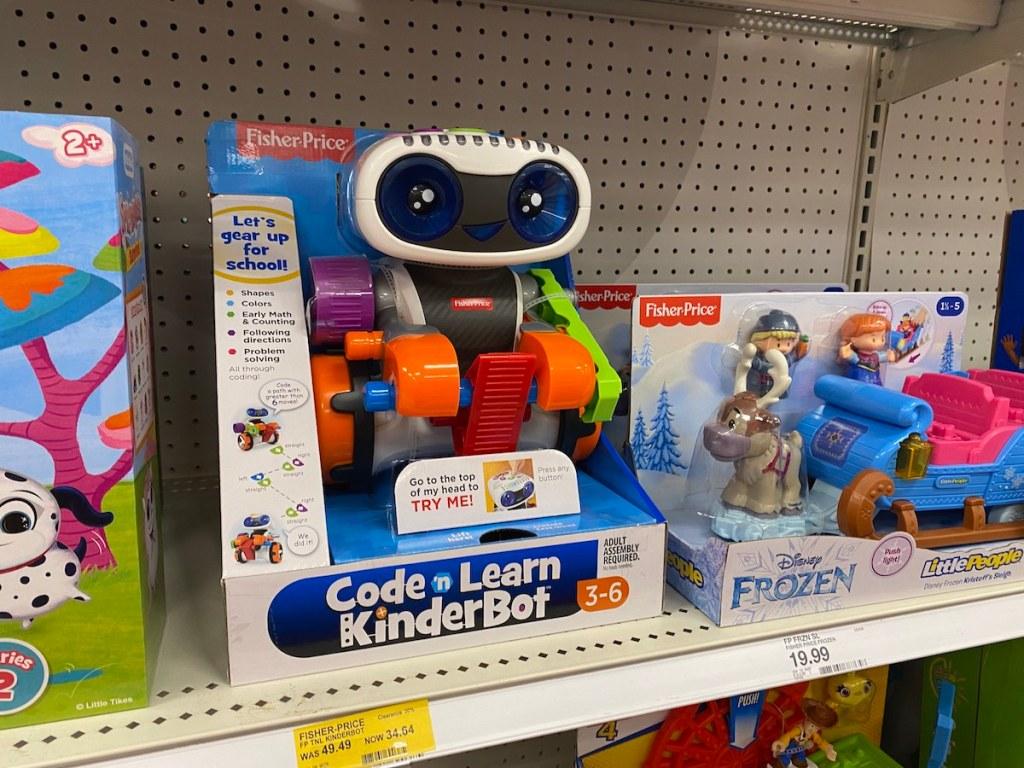 Kinderbot toy in target