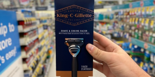 King C. Gillette Shave Products from $2.49 Each After Walgreens Rewards (Regularly $8-$13)
