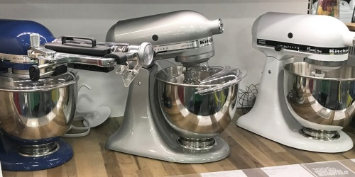 KitchenAid Refurbished 5-Quart Stand Mixer w/ Accessories Just $161 Shipped (Regularly $200)