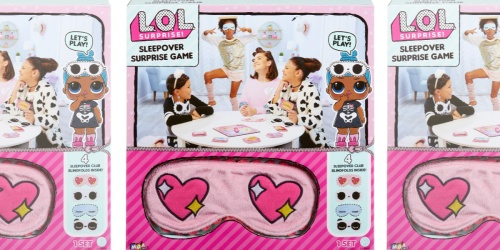 L.O.L. Surprise! Sleepover Surprise Active Party Game Just $4.88 (Regularly $13)
