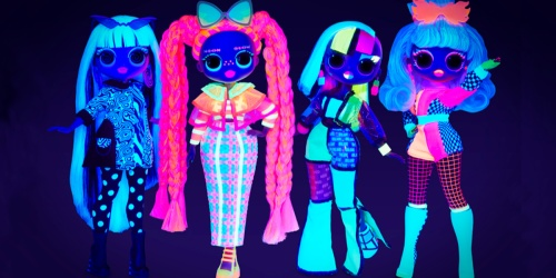New L.O.L. Surprise O.M.G. Lights Dolls Include Black Light & Have Awesome Reviews