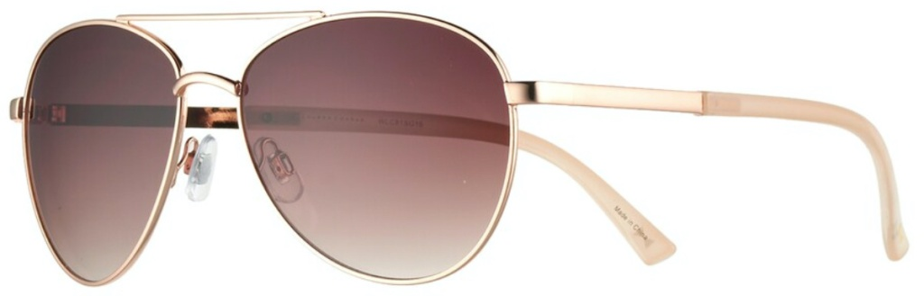 women's gold aviator sunglasses