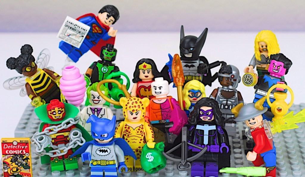 LEGO DC super heroes mini figures