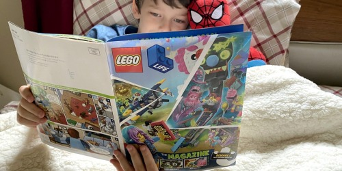 Free LEGO Life Magazine Subscription for Kids Ages 5-9