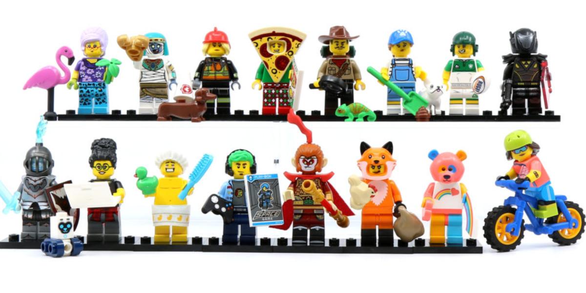 LEGO series 19 minifigures