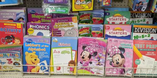 Educational Kids Workbooks Only $1 at Dollar Tree
