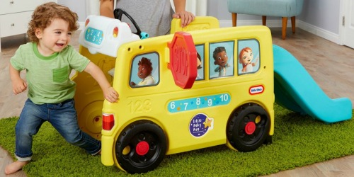 Little Tikes Wheels on the Bus Climber Just $103.99 Shipped on Macys.com (Regularly $130)