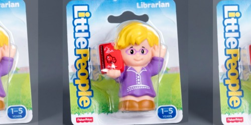 Fisher-Price Little People Librarian Only $2.97 on Amazon (Regularly $8)