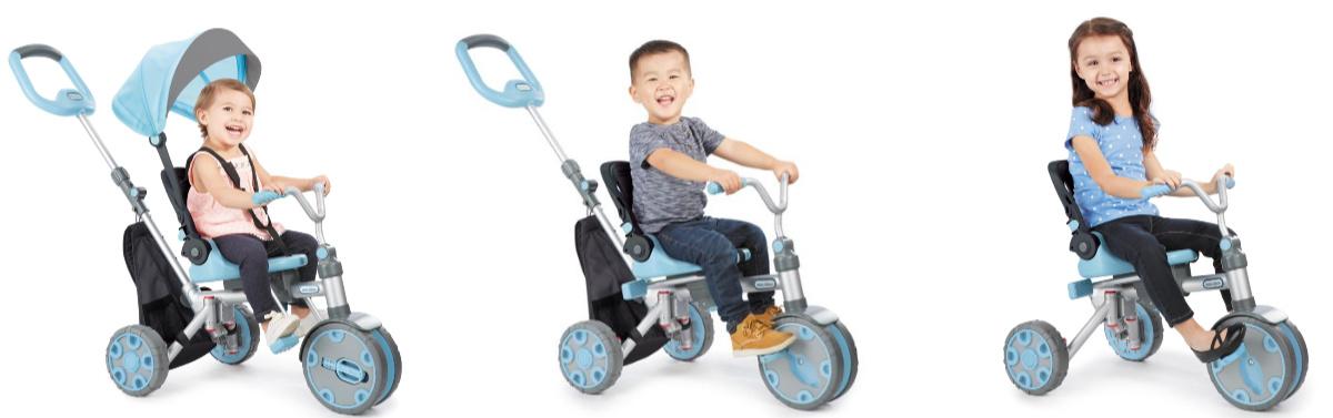 kids riding little tikes