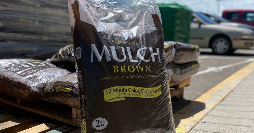 bag of mulch