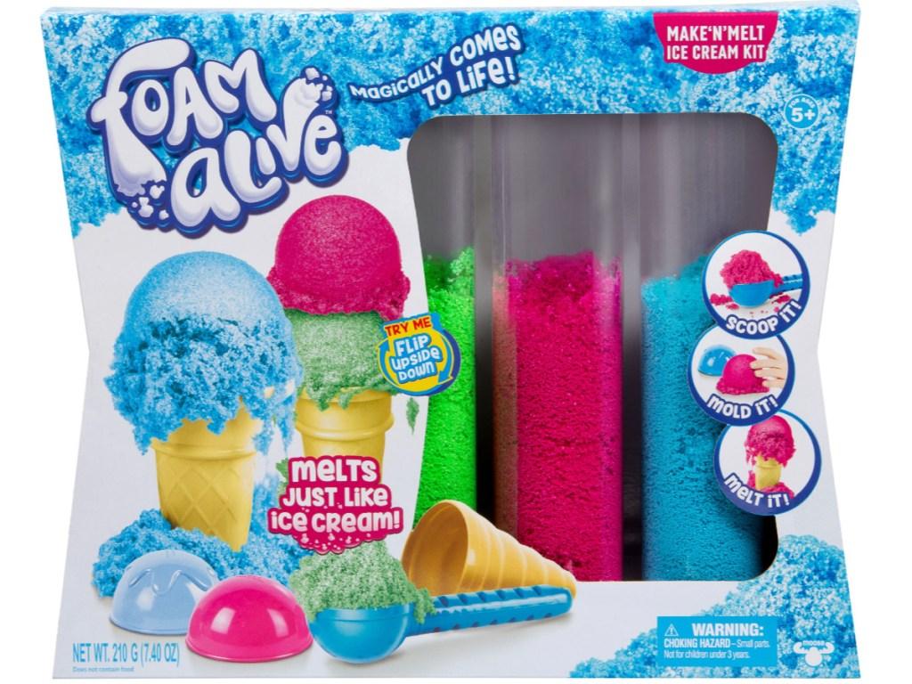 Make n' Melt Foam Ice Cream Kit Box