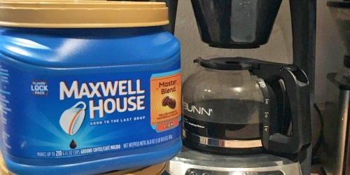Maxwell House 26.8-Ounce Ground Coffee Only $3.71 Shipped on Amazon