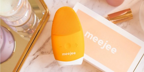Meejee Sonic Pulse Silicone Cleansing Brush & Massager Only $55 Shipped on Zulily (Regularly $80)