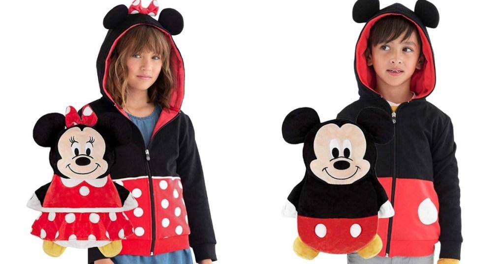 Mickey & Minnie Cubcoat Hoodie